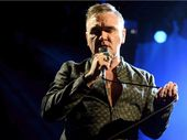 """Is this Vivid enough?"" Morrissey yelled to his cheering fans as he performed at the opening night of his series of show at the Sydney Opera House."