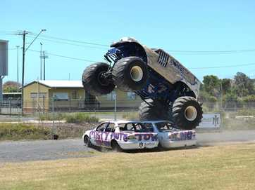 Australian Monster Trucks in Mackay.
