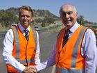 ANYONE who's driven west of Toowoomba on the Warrego Hwy lately will have seen dramatic changes as the government works on duplicating the national highway.