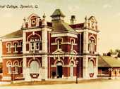 """AN ARTICLE in The Queensland Times of January 23, 1915, relates the fact that, """"In connection with the Ipswich Technical College, a domestic school for girls is to be opened there in February.""""This was the first experiment of its kind in Queensland."""