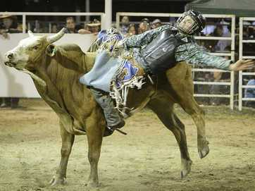 There was plenty of action at the Miriam Vale Rodeo on Saturday.