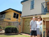 ON FRIDAY night, Lida Savage watched as the block of units in Owen St, Ballina she and her husband John built 50 years earlier was destroyed by fire.