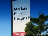 A FIREFIGHTER was transported to Mackay Base Hospital with with an injury to his left ear after a gas bottle explosion about 7pm last night.