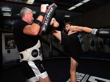MMA fighter Scott Thorburn prepares for Fight Night this weekend at Norval Court, Maroochydore.