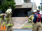 A FIRE in a Kingscliff home left several rooms seriously damaged on Thursday afternoon.