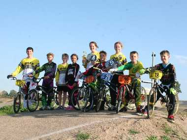 THE team from Callide Valley BMX Club represented the region at the Queensland State Titles. Photo Emma Clarke / Central Telegraph