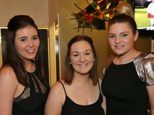 L-R Emma Friske, Lauren Arnold and Kimberly Morris at Ginger Mule. Photo Liam Fahey / Morning Bulletin