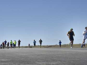 Thousands of people took part in the once-in-a-lifetime fun run, on the runway of the new Brisbane West Wellcamp Airport and raised funds for juvenile type one diabetes sufferers within the Toowoomba and Darling Downs region.