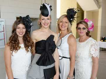 There were plenty of people dressed to the nines at the Caulfield Cup Race Day at Callaghan Park on Saturday which attracted over 5000 race goers.