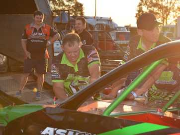 A blockbuster opening night at the Kingaroy Speedway saw plenty of fast paced action.