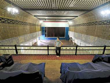SUPPORT WANING: The Paragon Theatre, pictured during its redevelopment, needs more support to keep its doors open.