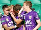 AN ANDY Keogh hat-trick has condemned last season's champion Brisbane Roar to its second straight defeat to start the A-League campaign.