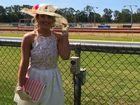 Reporter Melanie Plane dressed to impress at the Caulfield Cup Race Day in Rockhampton.