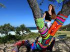 "ARTY vandals in Cabarita have employed a new worldwide trend in street art by ""yarn-bombing"" a large tree on the headland."