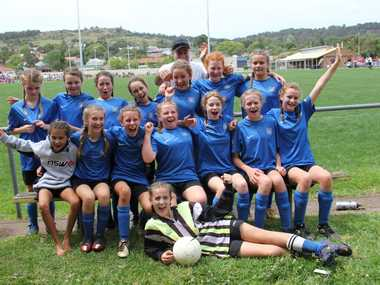 CHAMPS: The Bangalow Public School Girls' Soccer Team has placed third in the NSW PSSA State Soccer Championships.