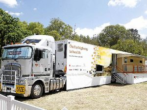 Heart of Australia's K200 and state-of-the-art mobile clinic.