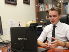 Wyatt Roy has become one of the youngest ever federal frontbenchers after he was sworn is as assistant minister for innovation at just 25.