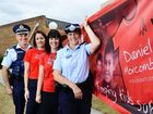 IPSWICH'S CBD will become a sea of red this Friday as the city's fourth annual Walk For Daniel winds its way through town.
