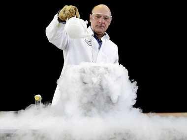 Nimbin Central School science teacher Bill Zsigmond.