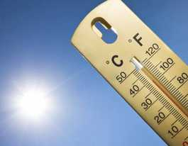 The DEX readers record 41, 40, 39 degrees today