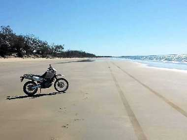 Kinkuna beach, part of Burrum Coast National Park, is a hot spot for campers.