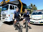 NAMBOUR Police have received two new mountain bikes to help them  fight crime.