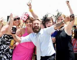 Race goers get ready to frock up and splash the cash