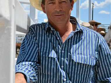 HARD YARDS: Geoff Grant is a yard builder, who has worked on Gracemere, Tamworth, Casino and now the Wodonga saleyards.