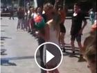 WATCH: Brisbane flash mob marriage proposal