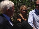 Peter Foster's lawyer addresses the media