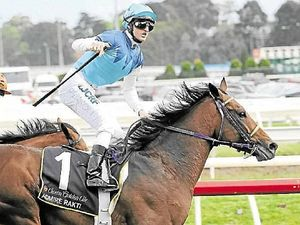 TOP HOOP: Coffs Coast-raised jockey Zac Purton is hoping to complete the Caulfield Cup-Melbourne Cup double on Tuesday aboard Admire Rakti.