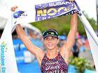 Ashleigh Gentle wins the 2014 Noosa Triathlon.
