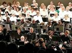 A 50-VOICE community choir will join our region's orchestra in song this weekend to celebrate the 10th birthday of Lismore Symphony Orchestra.