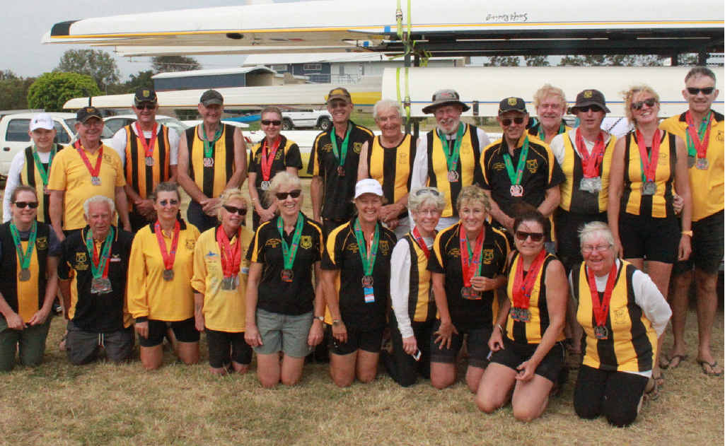 Awesome display from Grafton rowers at Gold Coast regatta