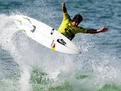 JULIAN Wilson has got his 2015 world tour aspirations back on track and celebrated his birthday in style after knocking off world No.1 Gabriel Medina.