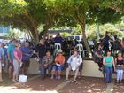 MANY of people have ignored the heat and headed to the Remembrance Day service at Yeppoon.