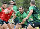 AUSTRALIA'S fired-up forwards have vowed to restore their damaged reputation in Saturday's Four Nations final against a big New Zealand pack.