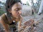 CLAIRE Dunn spent a year in the bush near Grafton, building her own shelters, trapping food, and making fires. Now she is sharing her experience with others.