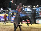 """CABOOLTURE bull riding fans have witnessed the world's """"greatest"""" bull rider for the first time in Australian history – and he did not disappoint."""