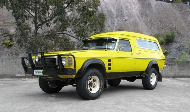 Holden Overlander Sandman Panel Van Sells For 36 000