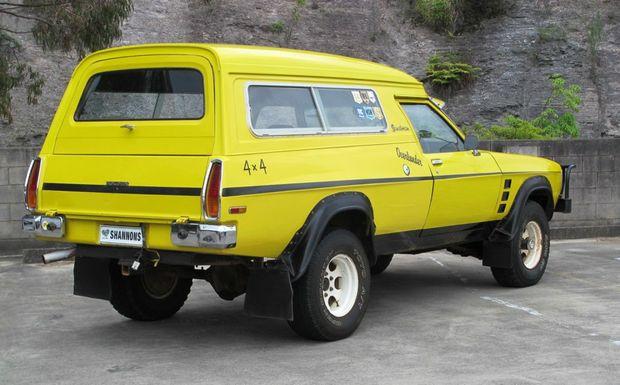 Holden Overlander Sandman Panel Van sells for $36,000 ...