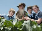 DARLING Downs Christian School garden volunteer Roy Benham will never forget the first time he dug up some sweet potatoes with the students.