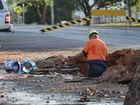 QUEENSLAND Urban Utilities crews are working to repair a burst water main in Goodna.
