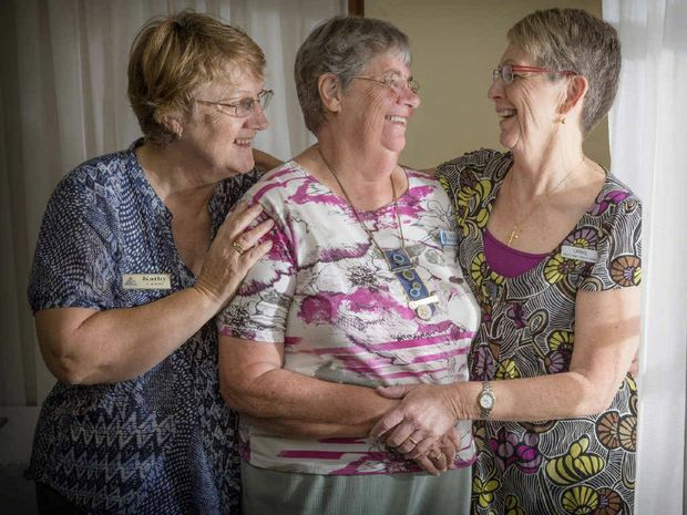 Child And Family Health Care Nurses Kathy Johnston Left