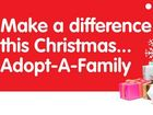 Every year the Adopt-A-Family for Christmas appeal brightens the lives of local families facing adversity at Christmas time.