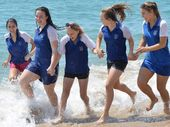 HUNDREDS of school leavers from the Mackay region are on their way to party it up in Airlie Beach for Schoolies Week.