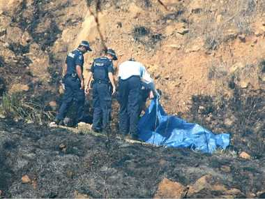 GYROCOPTER CRASH: A man was killed after his small gyrocopter slammed into the side of a hill at Lefthand Branch Road near Mt Sylvia yesterday.