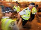 POLICE say they have been pleased with the behaviour of schoolies on the Gold Coast, despite 45 arrests over the weekend and 77 liquor infringement notices being issued.