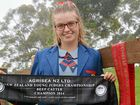 CLOE Wallace's mum had already bragged about her daughter's success before the 17-year-old stepped off the plane back on Australian soil on Saturday.