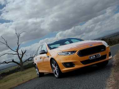 The Ford Falcon XR8 is the star of the FG X range.